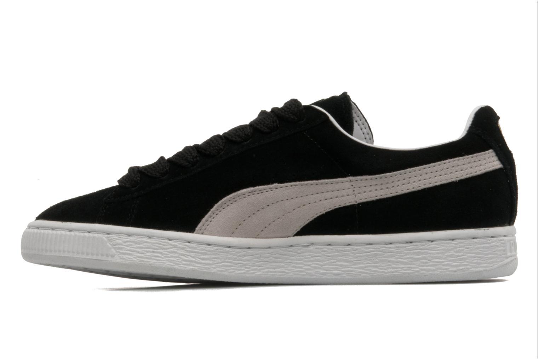 Sneakers Puma Suede classic eco W Zwart voorkant