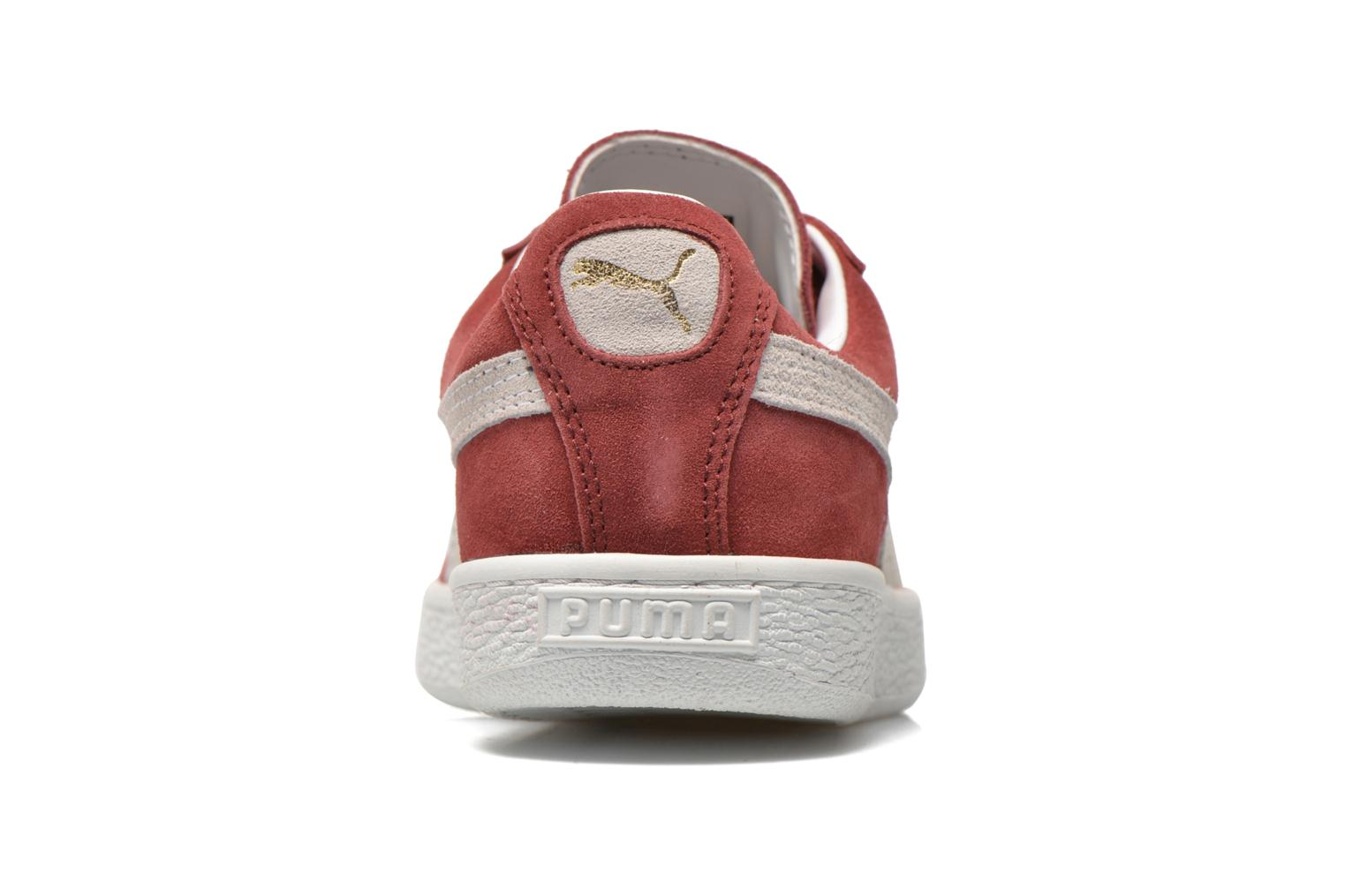 Trainers Puma Suede classic eco W Burgundy view from the right