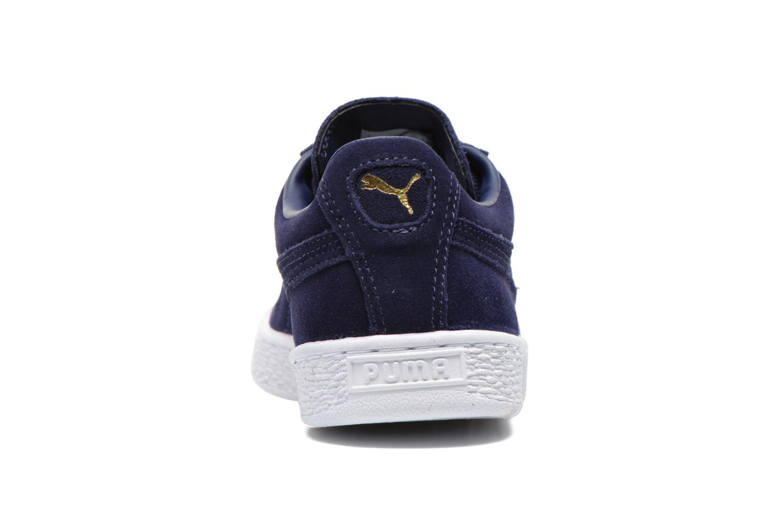 Trainers Puma Suede classic eco W Blue view from the right