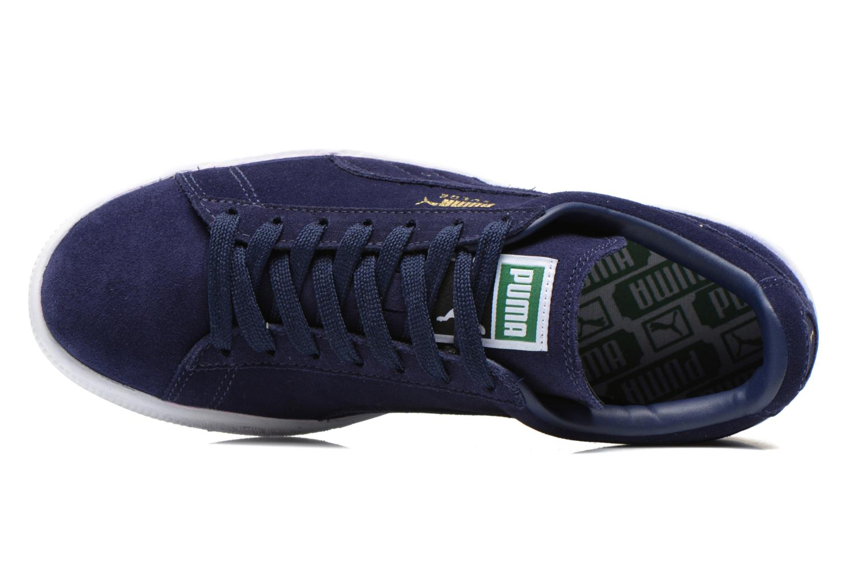Baskets Puma Suede classic eco W Bleu vue gauche