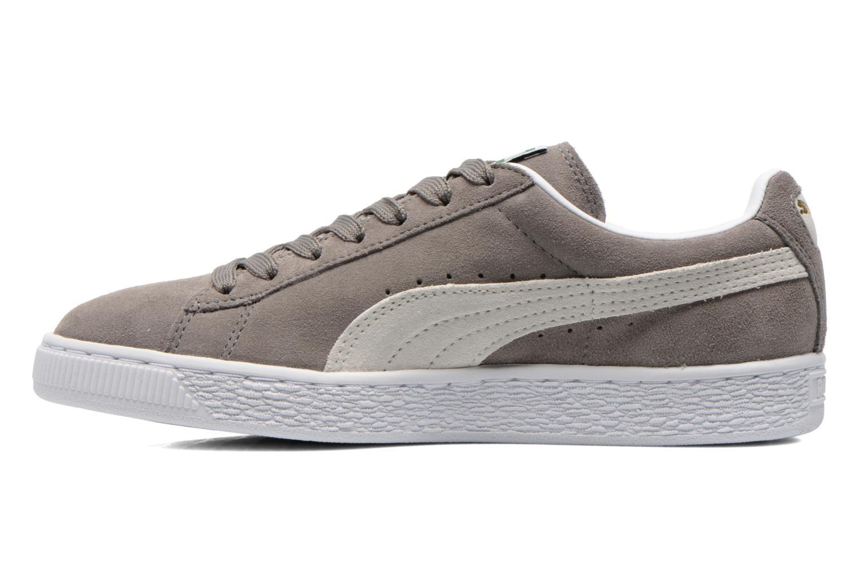 Sneaker Puma Suede classic eco W grau ansicht von vorne