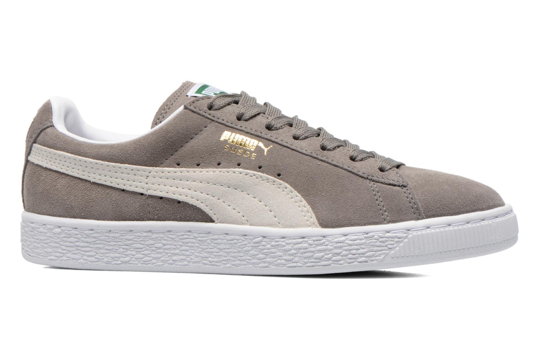Sneaker Puma Suede classic eco W grau ansicht von hinten