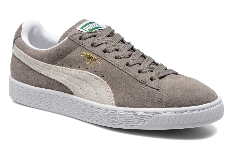 Sneakers Puma Suede classic eco W Grijs detail