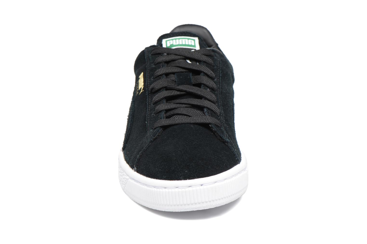 Trainers Puma Suede classic eco W Black model view