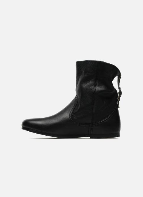 Bottines et boots P-L-D-M By Palladium Paige cash Noir vue face