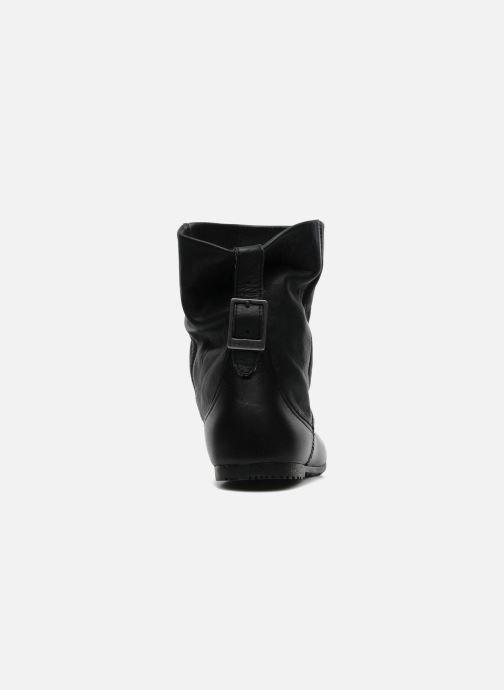 Bottines et boots P-L-D-M By Palladium Paige cash Noir vue droite