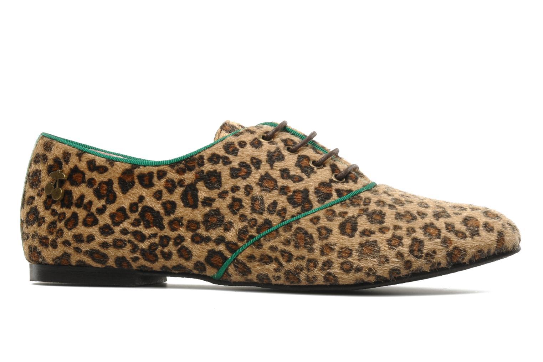 Chaussures à lacets Le temps des cerises Edin Multicolore vue derrière