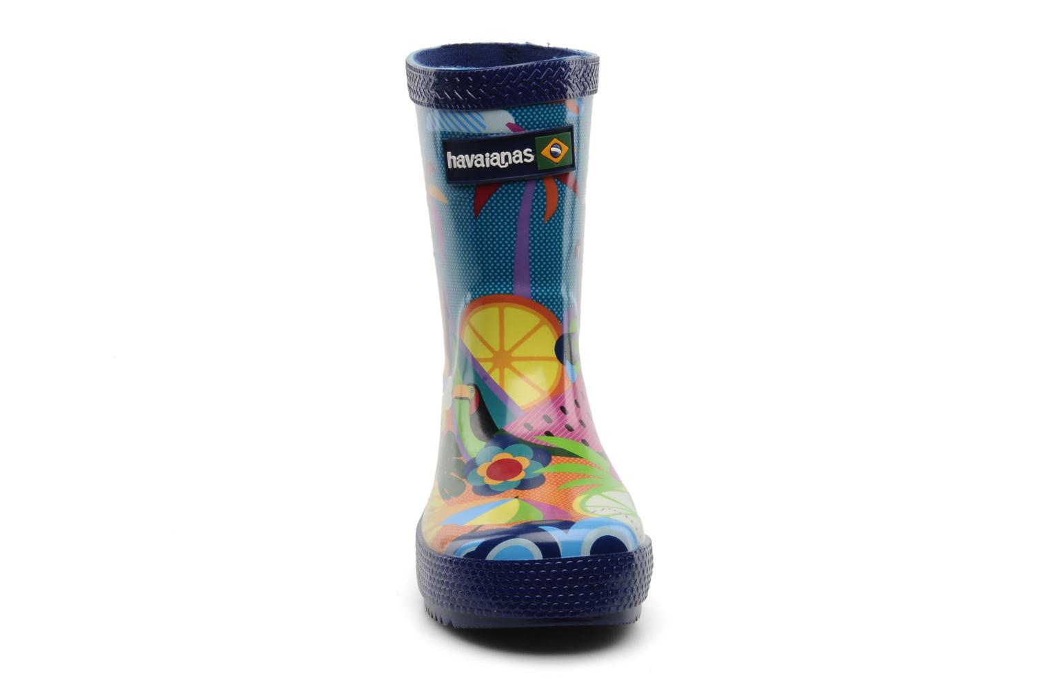 Bottes Havaianas Feeling Wellies Printed Kid Multicolore vue portées chaussures