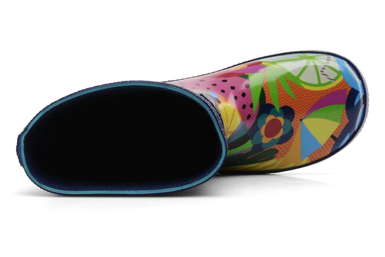Bottes Havaianas Feeling Wellies Printed Kid Multicolore vue gauche