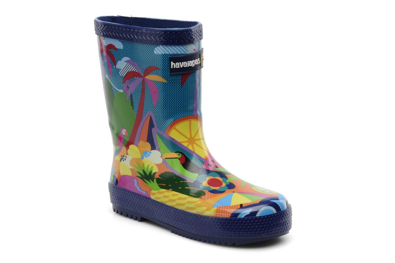 Bottes Havaianas Feeling Wellies Printed Kid Multicolore vue détail/paire