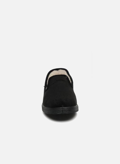 Pantofole Rondinaud Derval Nero modello indossato
