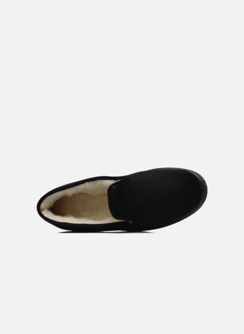 Slippers Rondinaud Derval Black view from the left
