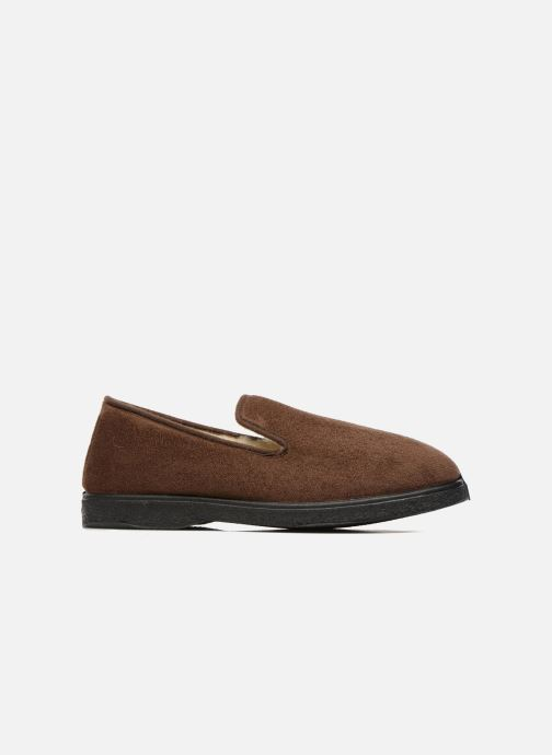 Pantofole Rondinaud Derval Marrone immagine posteriore