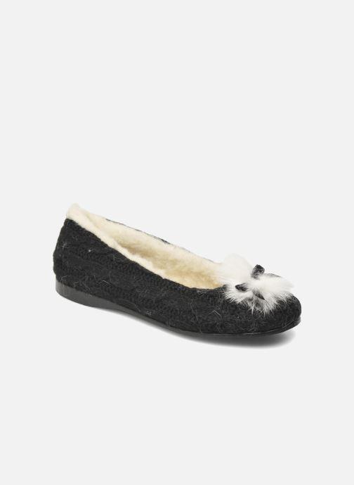 Pantofole Rondinaud Abzac Nero vedi dettaglio/paio