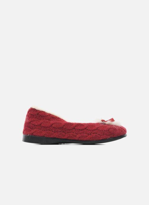 Pantofole Rondinaud Abzac Rosso immagine posteriore