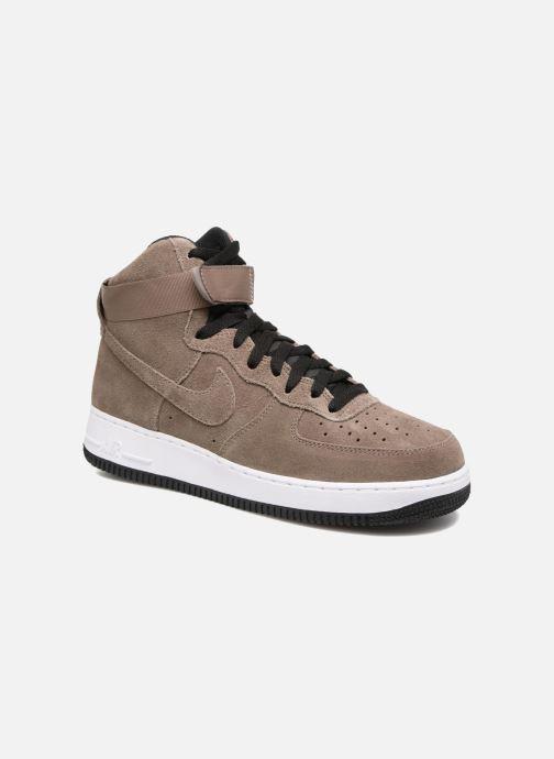 Baskets Nike Air Force 1 High'07 Marron vue détail/paire