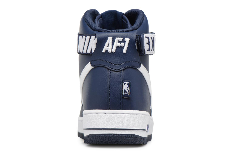 Baskets Nike Air Force 1 High'07 Bleu vue droite
