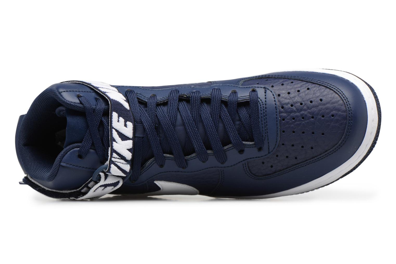 Baskets Nike Air Force 1 High'07 Bleu vue gauche