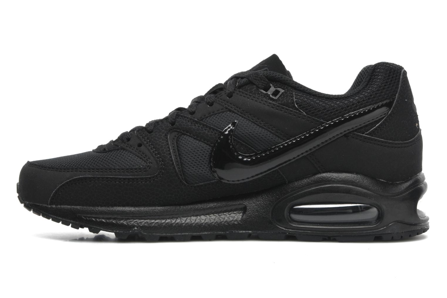 Trainers Nike Air Max command Black front view