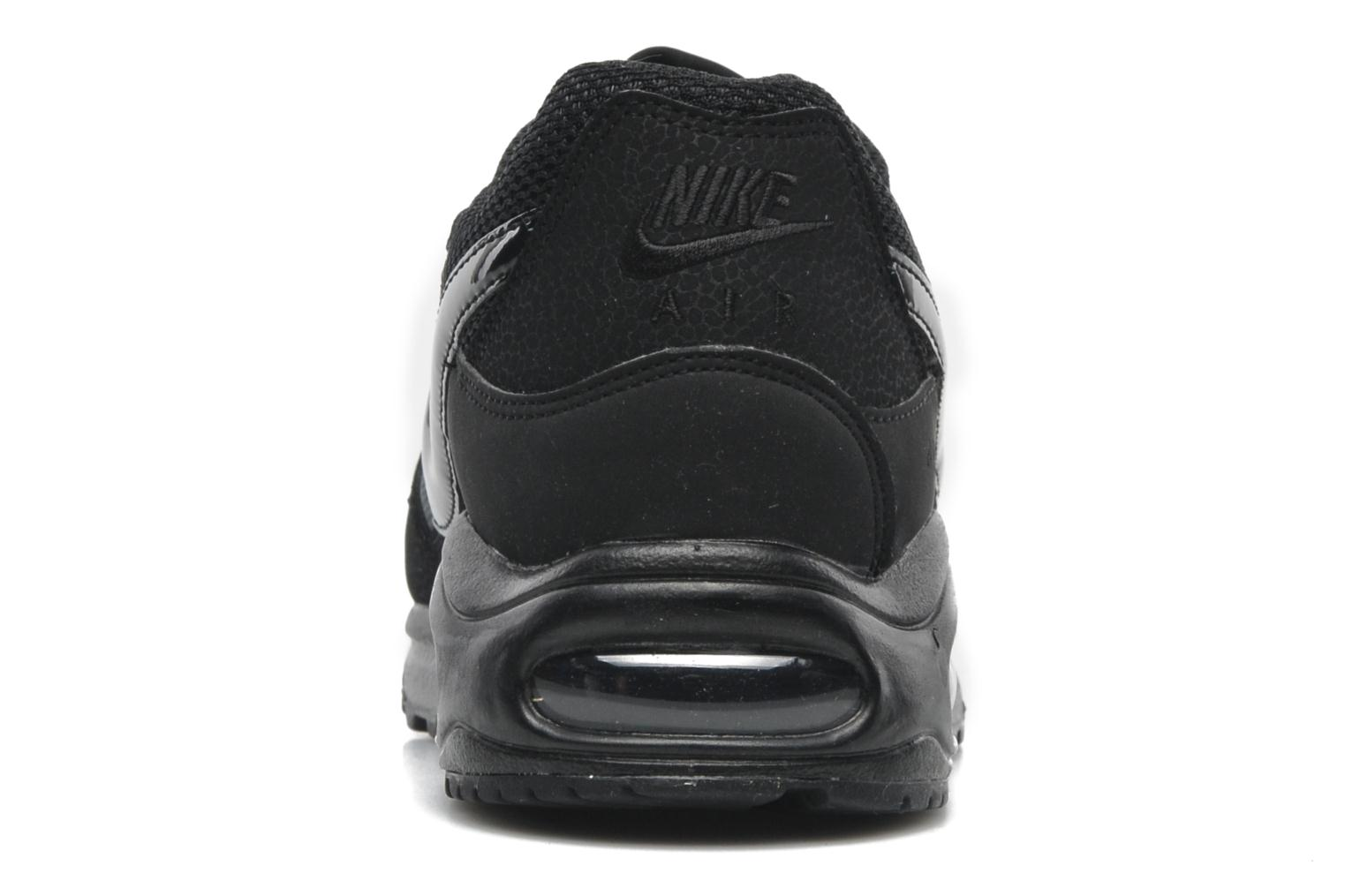 Trainers Nike Air Max command Black view from the right
