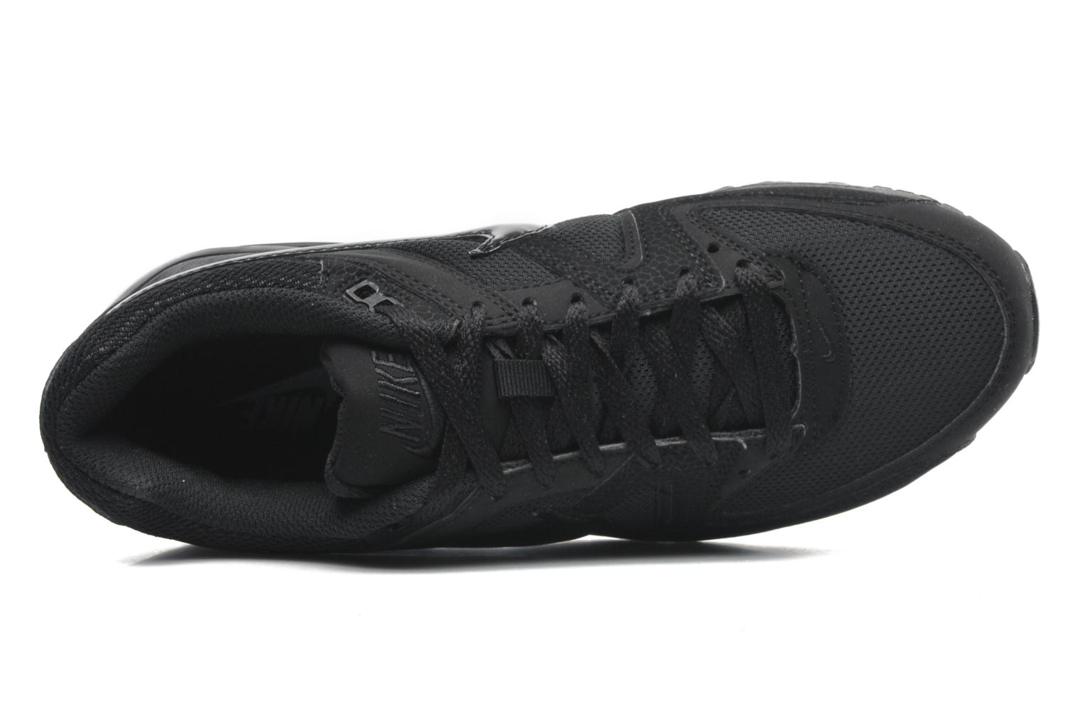 Trainers Nike Air Max command Black view from the left