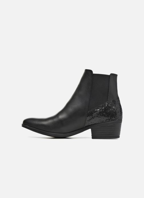 Ankle boots Pieces Becca Black front view