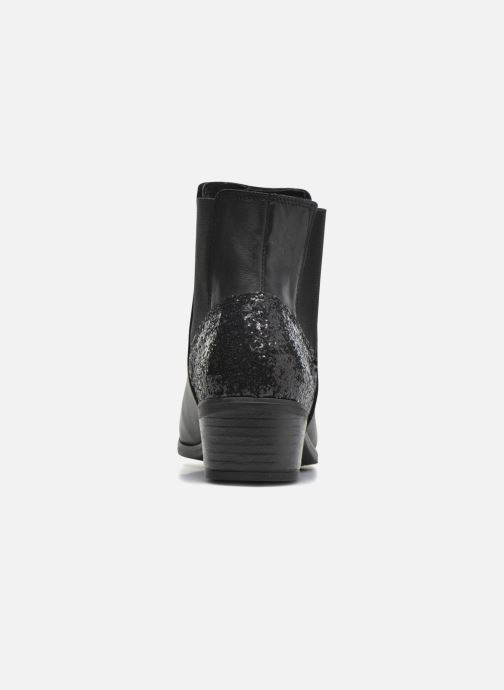 Ankle boots Pieces Becca Black view from the right