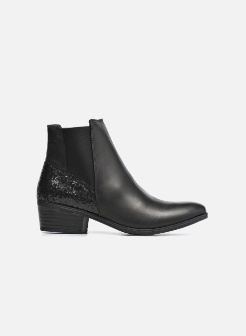 Ankle boots Pieces Becca Black back view