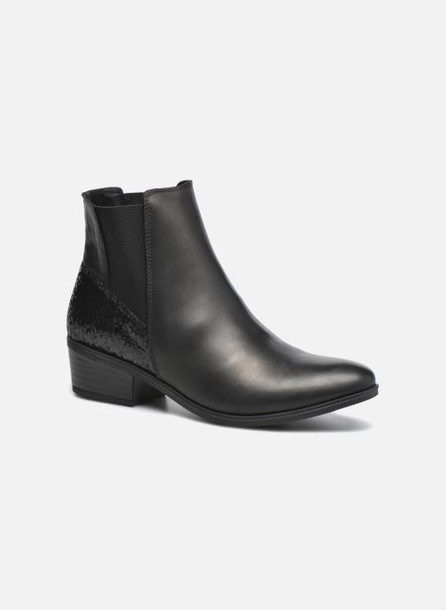 Ankle boots Pieces Becca Black detailed view/ Pair view