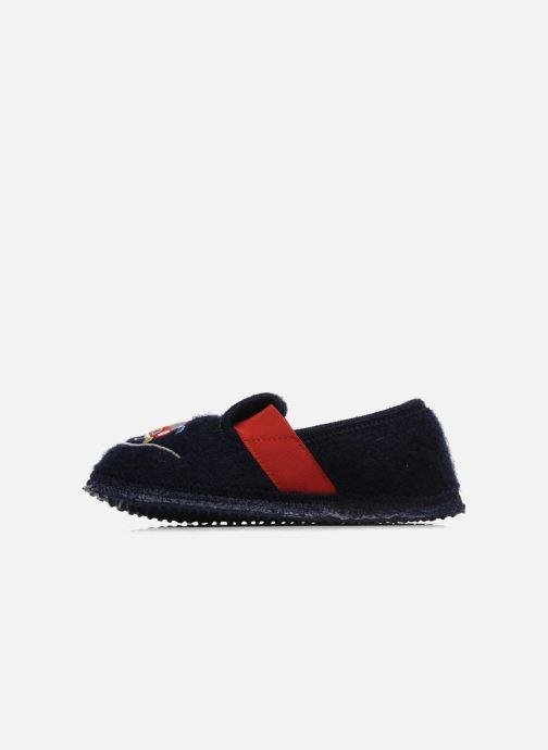 Slippers Giesswein Trulben Blue front view