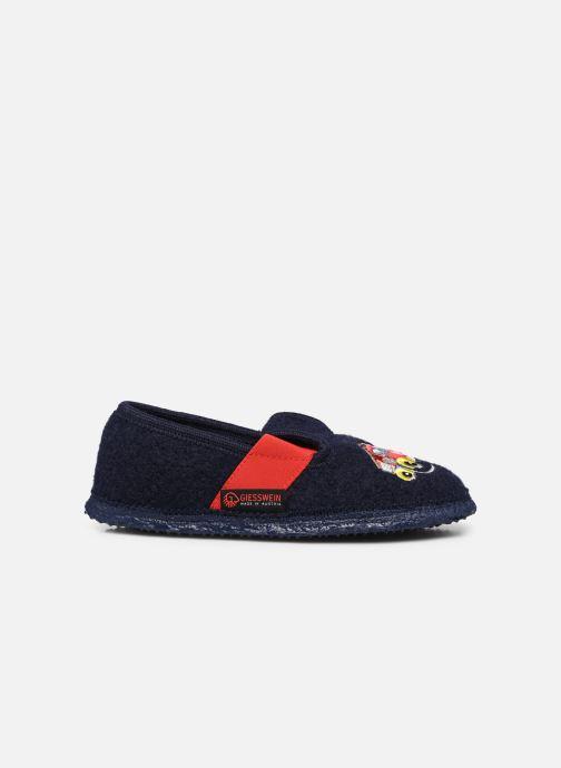 Pantofole Giesswein Trulben Azzurro immagine posteriore