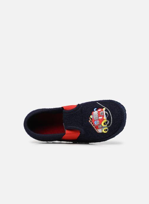Pantofole Giesswein Trulben Azzurro immagine sinistra