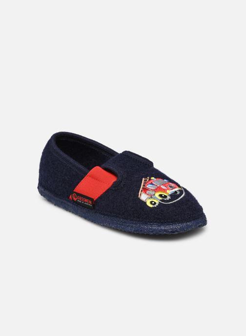 Hjemmesko Giesswein Trulben Blå detaljeret billede af skoene