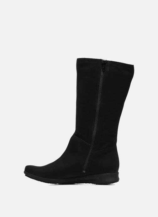 Stiefel Mephisto Filina schwarz ansicht von vorne