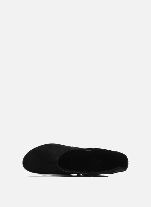 Stiefel Mephisto Filina schwarz ansicht von links