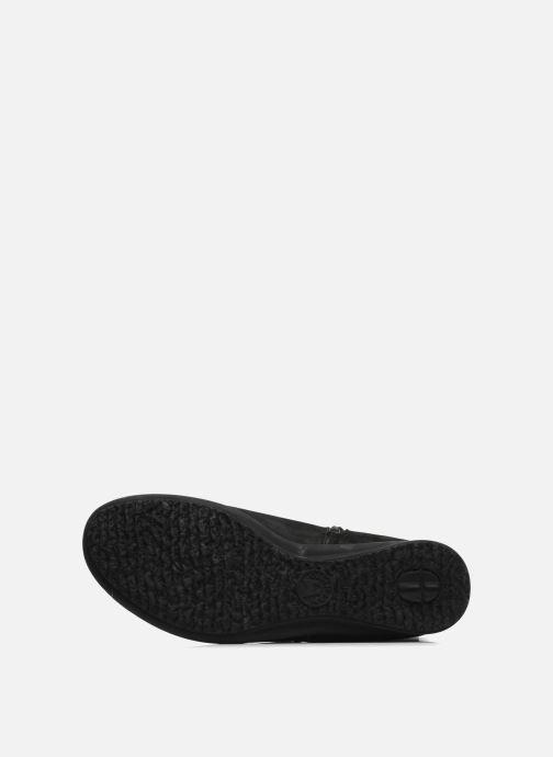 Stiefel Mephisto Filina schwarz ansicht von oben
