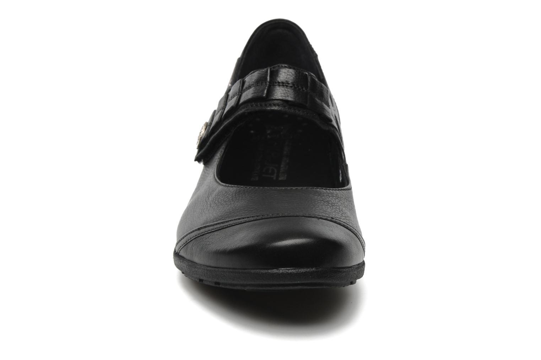 Ballerines Mephisto Gerdina Noir vue portées chaussures