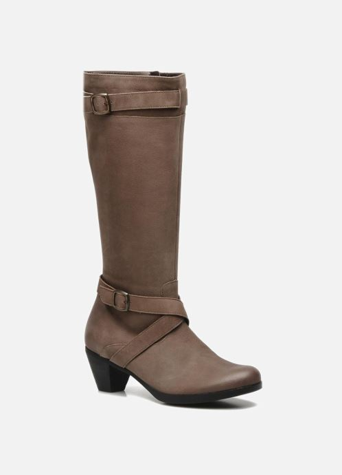Boots & wellies Mephisto Ziba Brown detailed view/ Pair view