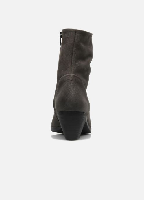 Ankle boots Mephisto Zest Grey view from the right