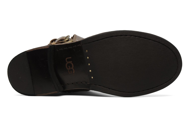 Bottines et boots UGG Conor Marron vue haut