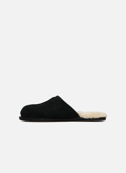 Pantoffels UGG Scuff Zwart voorkant