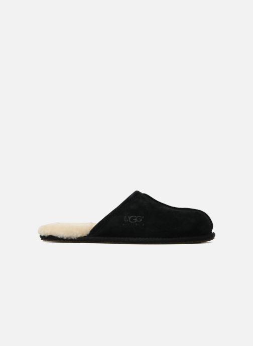Pantoffels UGG Scuff Zwart achterkant