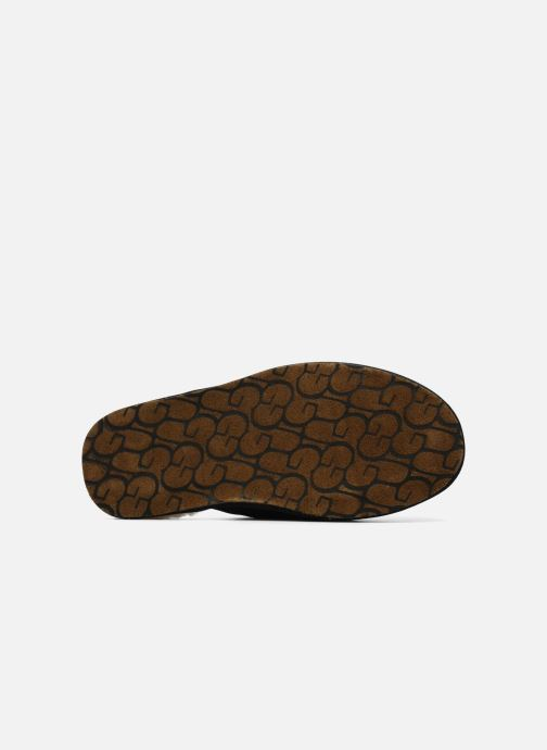 Pantofole UGG Scuff Nero immagine dall'alto
