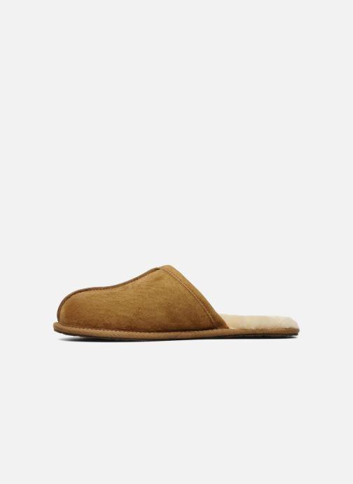 Pantofole UGG Scuff Marrone immagine frontale