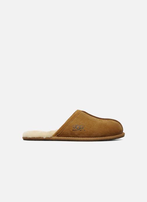 Pantoffels UGG Scuff Bruin achterkant