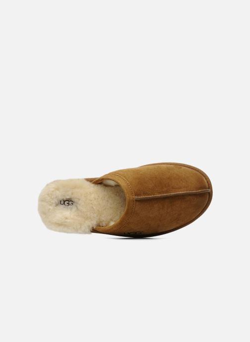 Pantofole UGG Scuff Marrone immagine sinistra