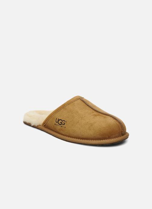 Pantofole UGG Scuff Marrone vedi dettaglio/paio