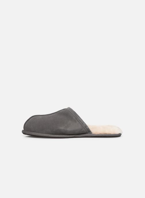 Chaussons UGG Scuff Gris vue face
