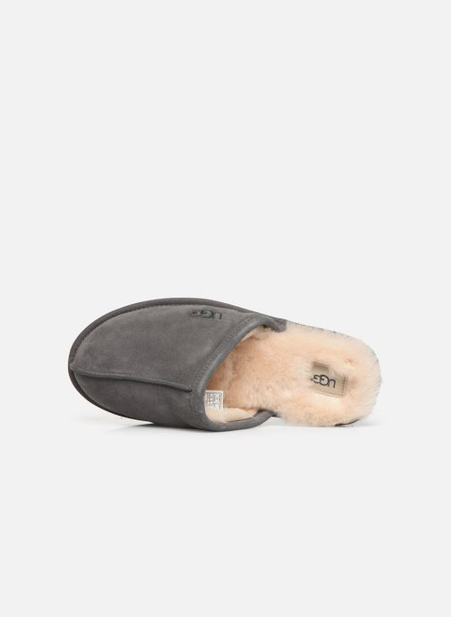 Slippers UGG Scuff Grey view from the left