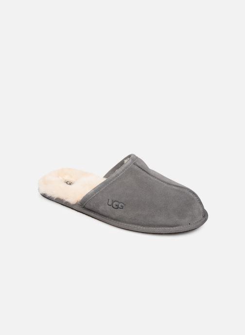 Hjemmesko UGG Scuff Grå detaljeret billede af skoene